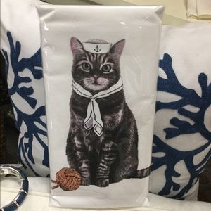 Sailor Cat Floursack Towel